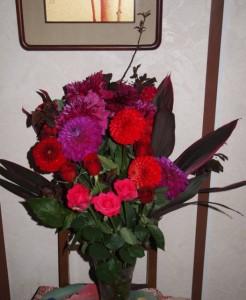 俣野温子先生からいただいた素敵なお花!