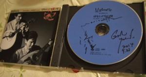 マリオネットの湯淺さん吉田さんのサイン入りCD